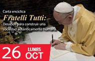 FDCP - Conversatorio acerca de la Carta Encíclica Fratelli Tutti: desafíos para construir una sociedad auténticamente humana