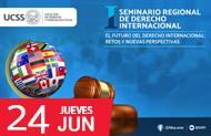 """FDCP - PRIMER SEMINARIO GENERAL DE DERECHO INTERNACIONAL """"EL FUTURO DEL DERECHO INTERNACIONAL: RETOS Y NUEVAS PERSPECTIVAS"""""""